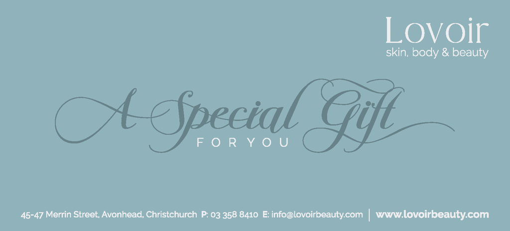 Lovoir Gift Voucher Wellbeing & Gifts